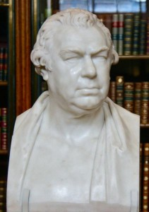 Sir Joseph Banks bust in the British Museum