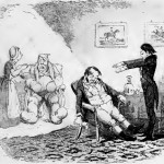 Clairvoyance - after George Cruikshank