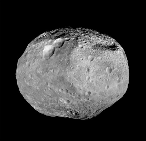 The asteroid Vesta (NASA)