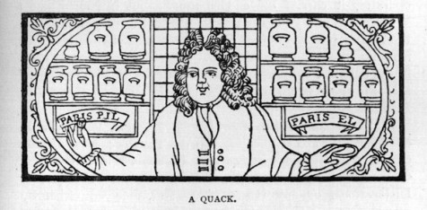 A quack from an earlier age (Credit:Tufts University)