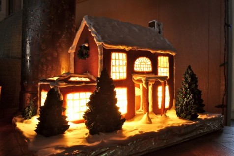 Gingerbread house © Tim Jones