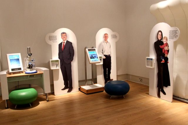 Part of the interactive Inside DNA exhibition at New Walk Museum (Photo:Tim Jones)