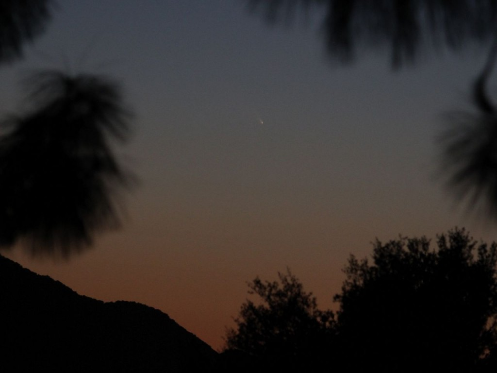 Comet PANSTARRS c/2011 L4 10/03/2013 19:30 PST Los Angeles ©Tim Jones