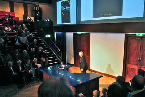 Bob Park at the Royal Institution