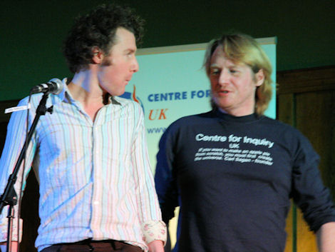 Ben Goldacre (left) and John Law