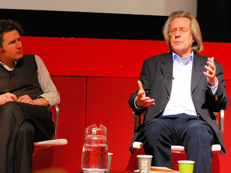 Anthony Grayling and Ben Goldacre (Photo Sven Klinge)