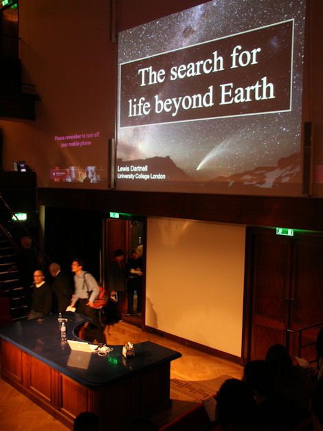 Search for Life at the Royal Institution