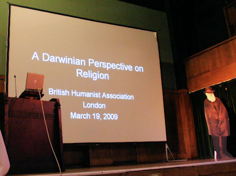 A Darwinian Perspective on Religion (Photo Tim Jones)