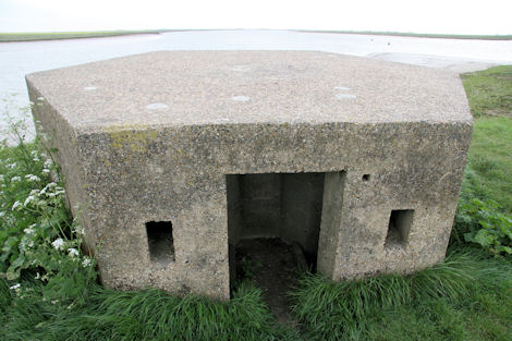 World War II defensive pillbox at Paglesham