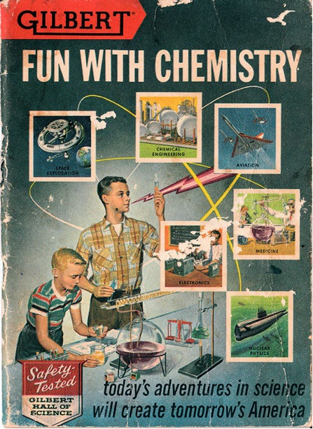 Chemistry Set Manual Cover