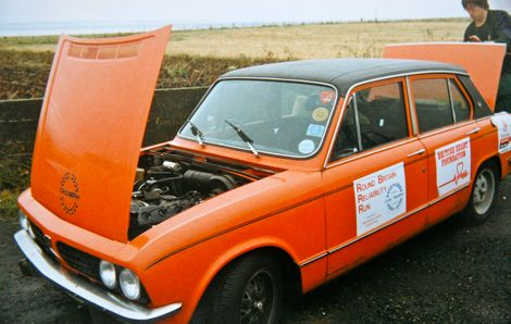 Triumph Dolomite Sprint - first commercial 16v motor car