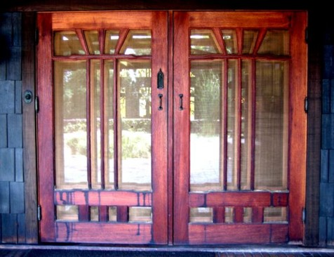 Gamble House window. Photo by Tim Jones