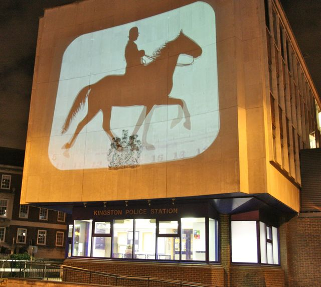 Muybridge on Kingston upon Thames police station
