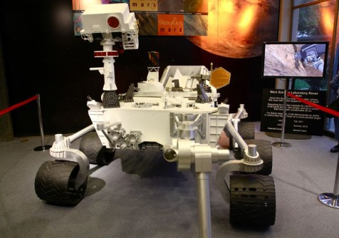 Mars Science Laboratory: Curiosity Rover.