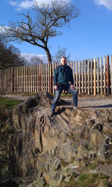 Tim Jones in Swithland Wood, Charnwood Forest