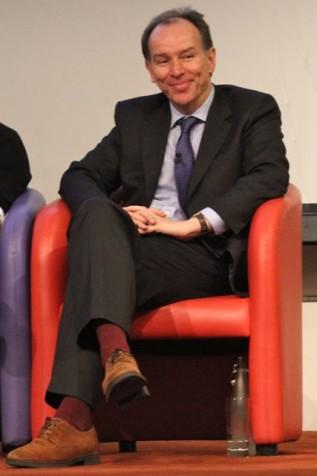 Jon Turney at the Royal Society (Photo: Tim Jones)