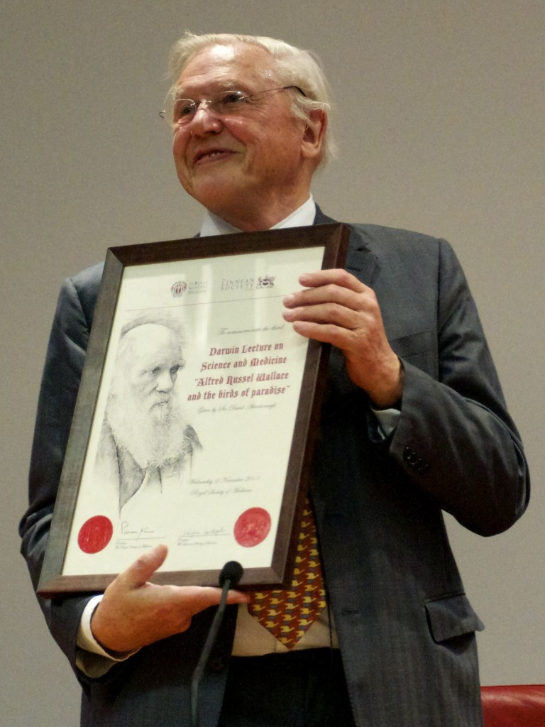 David Attenborough at the Darwin Lecture 2011