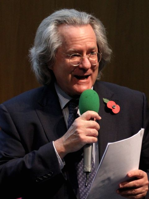 A.C.Grayling at the Wellcome Collection (Photo:Tim Jones)