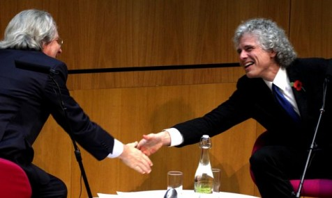 Steven Pinker and A.C.Grayling in conversation at the Wellcome Collection (Photo:Tim Jones)
