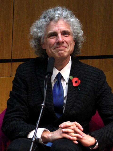 Steven Pinker at the Wellcome Collection (Photo:Tim Jones)