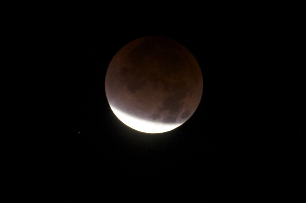Lunar Eclipse, 10th Dec 2011, 5.55 PST, Los Angeles (Photo:Tim Jones)