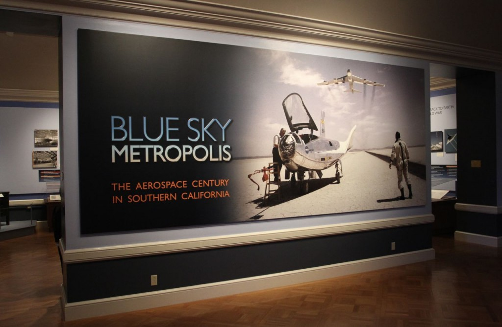 Blue Sky Metropolis Exhibition at Huntington Library (Photo:Tim Jones)