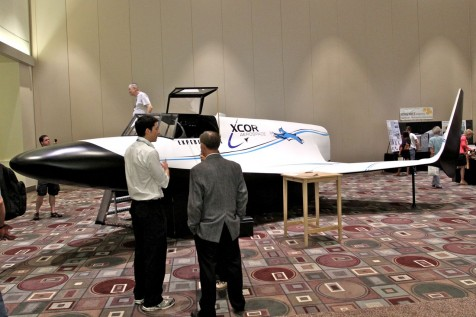 XCOR Lynx at Planetfest Pasadena (Photo: Tim Jones)