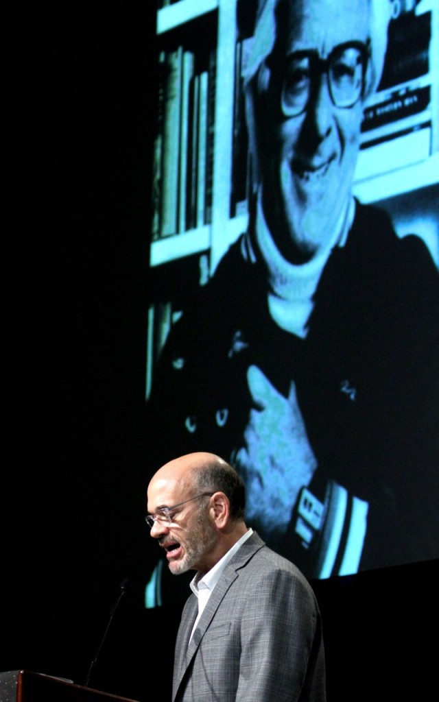 Robert Picardo reads Ray Bradbury (Photo: Tim Jones)