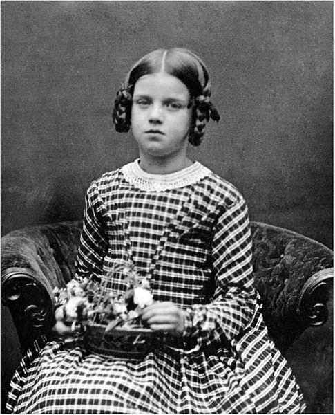Anne Elizabeth Darwin, 1848 (Wikipedia)