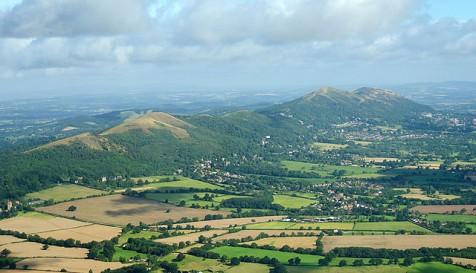 Malvern Hills (WikiCommons)