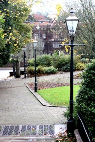 Malvern's gas lamps may have inspired the opening to C.S.Lewis's Narnia (Photo:Tim Jones)