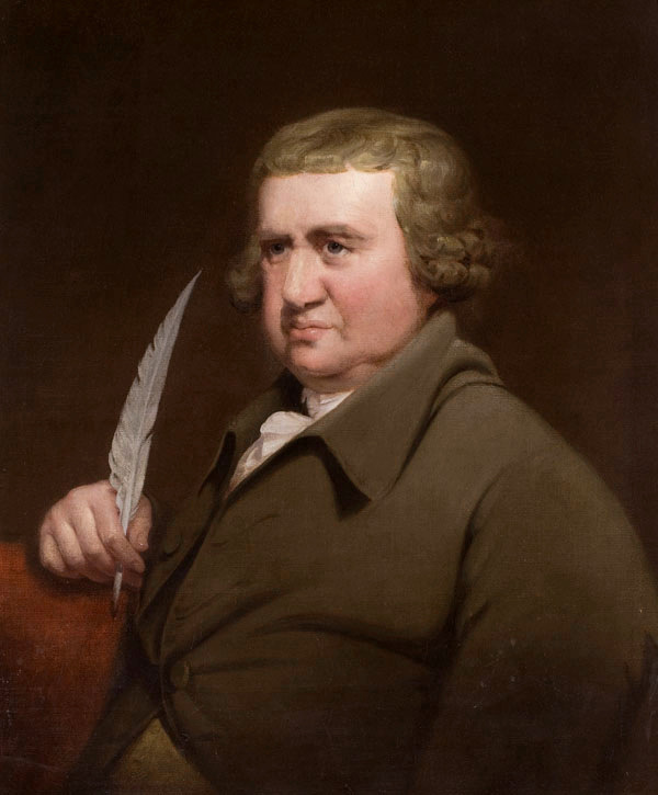 Erasmus Darwin by Joseph Wright of Derby 1792 (WikiCommons)