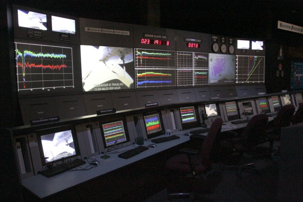 Simulated Mission Control ©Tim Jones