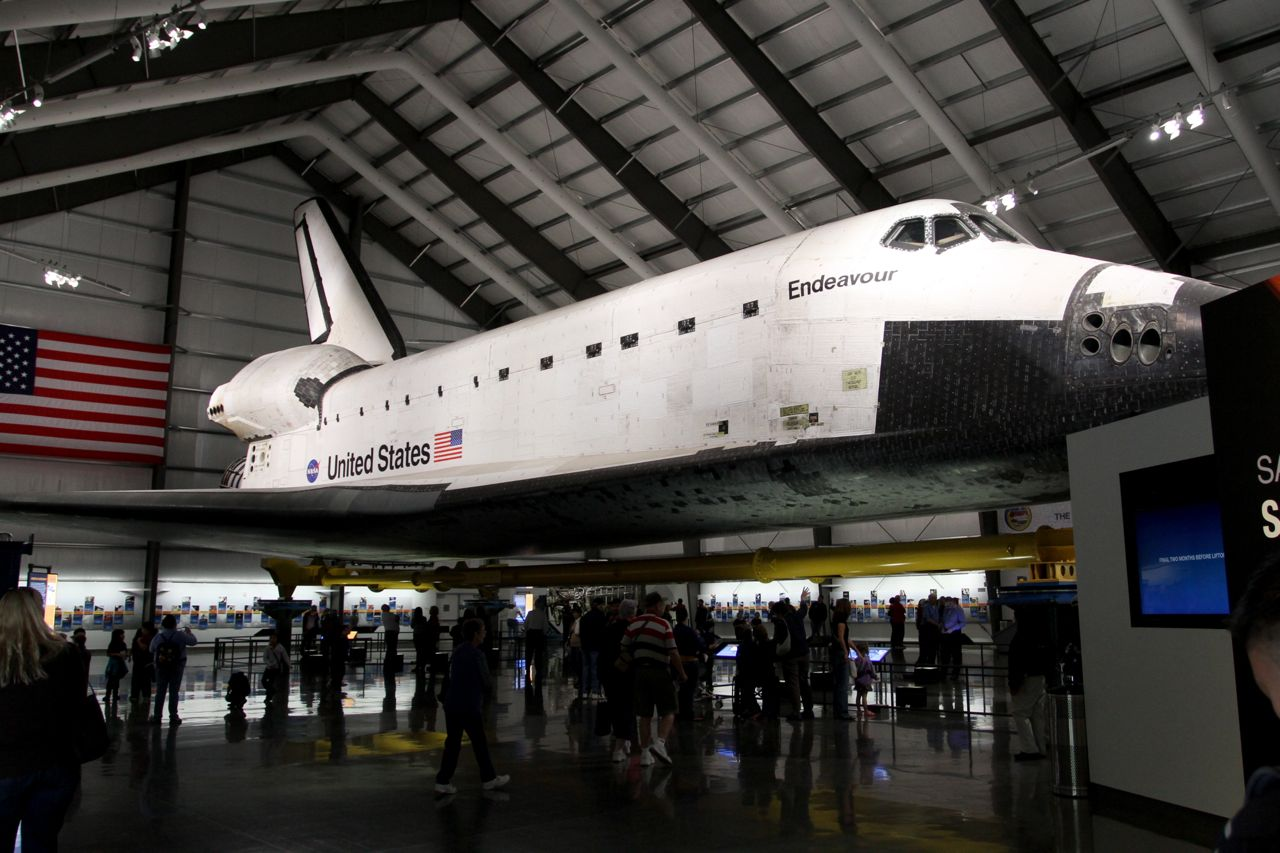space shuttle endeavour california - photo #4