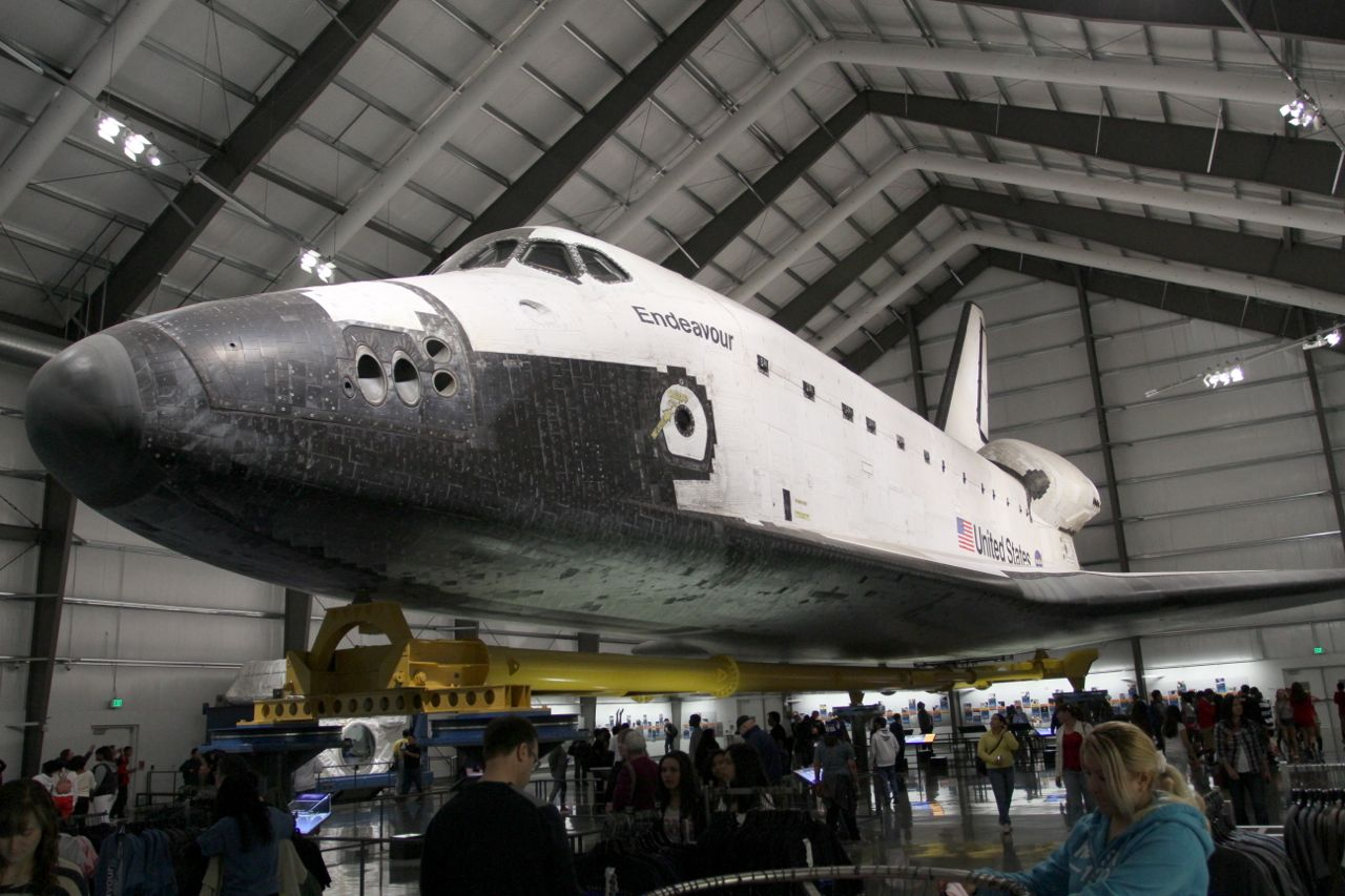 space shuttle endeavour california - photo #9