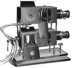 Before Powerpoint: the stereopticon