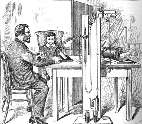 Early clinical application of X-Rays (from The New Photograph, 1896 (5) )