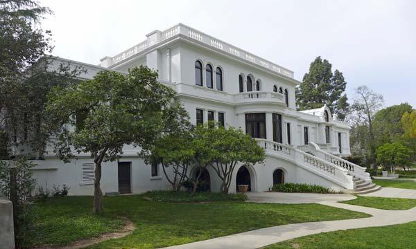 Fenyes Mansion, rear view. ©Tim Jones