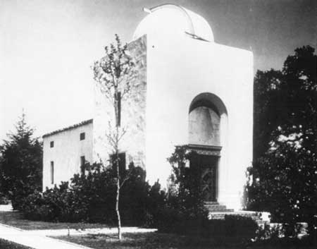Hale Solar Laboratory in 1931. Credit: National Parks Service. Picture Christine Shirley.